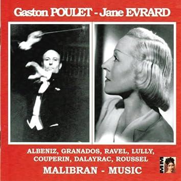 Albeniz, Granados, Ravel, Lully, Couperin, Daleyrac, Roussell