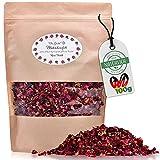 Die Gudn natürliches Blütenkonfetti (100 Gr. / >1 Liter, aus getrockneten Rosenblätter) Konfetti/Blüten aus echten Rosen z.B. als Deko für Hochzeit