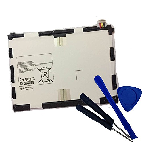 Price comparison product image Powerforlaptop Tablet Replace EB-BT550ABE Battery + Repair Tools for Samsung Galaxy Tab A 9.7-Inch Tablet SM-T550 SM-P550 SM-T555C SM-T555 SM-P351
