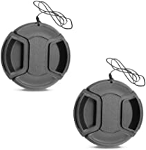 Fire-Rock 37mm Snap-On Front Lens Cap Cover Compatible For Olympus E-M10 Mark III E-PL7 With Zuiko 14-42mm Lens / Panasonic LUMIX GX85 LUMIX G 12-32mm Lens (2 PCS)