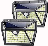 Luz Solar Exterior 210LED, AOPAWA [Actualizada 2000 Lúmenes]...