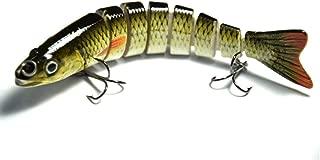 Supertrip 5/8-Ounce 5-Inch 8 Segment Swimbait Lures Crankbaits Baits Hard Bait Fishing Lures