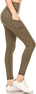 High Waisted Leggings -Soft & Slim - More Colors