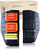 VLAND LED Montaje de luces traseras para Ranger T6 T7 PX MK1 MK2 Wildtrak 2012-2018 Luz inversa con dinámica