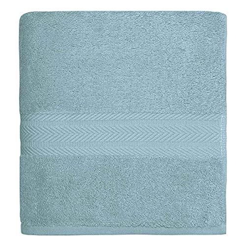 Senseï la Maison du Coton Drap De Douche Luxury - Couleur - Bleu Artic, Taille - 70x140