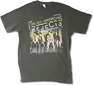 All - American Rejects Men's On The Deck 2012 Tour T-Shirt Black