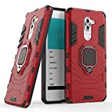 Cocomii Black Panther Ring Huawei Honor 6X/Mate 9 Lite/GR5 2017 Case, Slim Thin Matte Vertical & Horizontal Kickstand Ring Grip Drop Protection Bumper Cover Compatible with Huawei Honor 6X (Red)