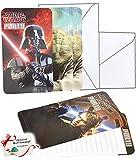 alles-meine.de GmbH 36 TLG. Set _ Einladungskarten - Star Wars