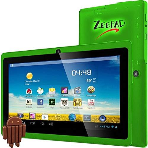 "Zeepad 7DRK-Q-Green 7Drk-Q, 7"" Android Tablet, 4 GB, Green"