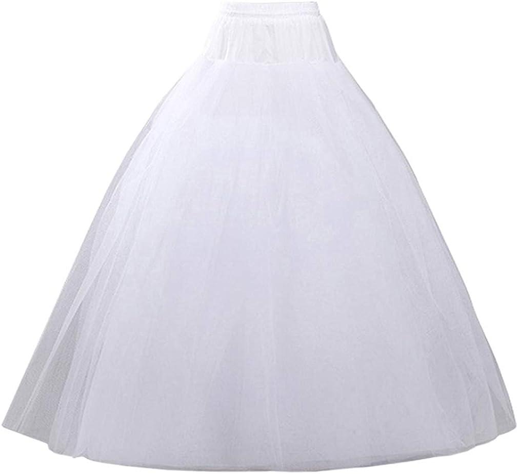 VeMee Attention Dallas Mall brand Underskirt Petticoat for Bridal Women Dresses Cr