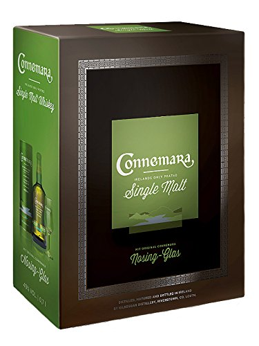 Connemara Peated Single in GP mit Glas Malt 0,7 Liter