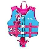 Kids Swim Vest Life Jacket Boys Girls Youth Flotation Swimsuit Buoyancy Swimwear Swimming Aid Vest with Adjustable Safety Strap Age 1-12 Years