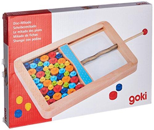Gollnest & Kiesel GmbH & 56679 Disc Mikado Spiel, gemischt