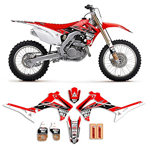 Enjoy Mfg Graphics Kit is a Compatible Fit for the 2014-2017 HONDA CRF 250 MUSCLE MILK