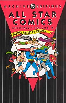 All Star Comics Archives, Vol. 8 - Book  of the DC Archive Editions