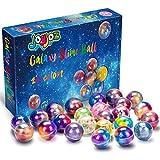 Joyjoz Slime Galaxy Fluffy Slime, 24 Packungen Putty Slime Kit DIY Schleim Bälle, Partygeschenkset Stressabbau Lernspiel für Kinder und Erwachsene