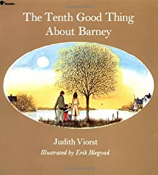 The 10th Best Thing About Barney by Judith Viorst