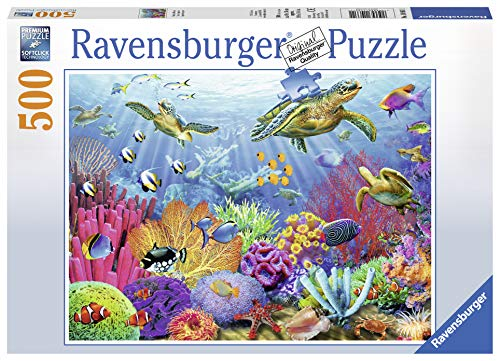 Ravensburger Tropical Waters 500 Piece Jigsaw Puzzle for Adults  Every Piece is Unique, Softclick Technology Means Pieces Fit Together Perfectly