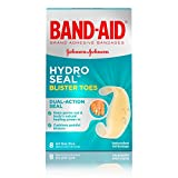 Band-Aid Hydro Seal Blister Toes, One Size, 8 Count Each (Pack of 2)