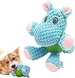 EEToys Hundespielzeug mit Quietscher und Gummiball, für kleine Hunde oder Welpen