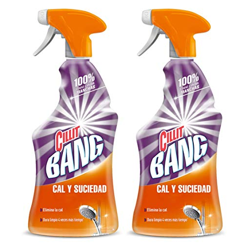 Cillit Bang Potente Limpiador Spray Cal & Brillo 750 ml (pack de...