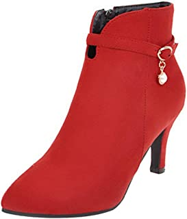 RAZAMAZAWomen Fashion Ankle Booties High Heels