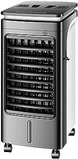 Ventilador de refrigeración, doble finalidad de aire acondicionado ventilador, móvil más pequeño aparato de aire acondicionado, frío y caliente de doble propósito viento y la luz de sonido ajustable d
