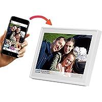 """Denver PFF-1011WHITE  Marco Digital de Fotos de 10.1"""" con WiFi Temporizador Software Fotográfico para Enviar Fotos desde la Aplicación Móvil al Marco Resolución: 800x1280"""