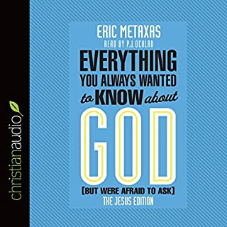 Everything You Always Wanted to Know About God (But Were Afraid to Ask): The Jesus Edition cover art