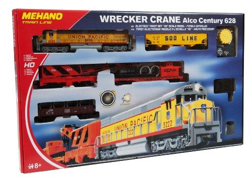Mehano- Trenino Elettrico Wrecker Crane, Multicolore, H0, T741