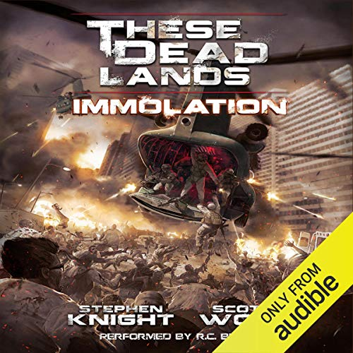 These Dead Lands: Immolation audiobook cover art