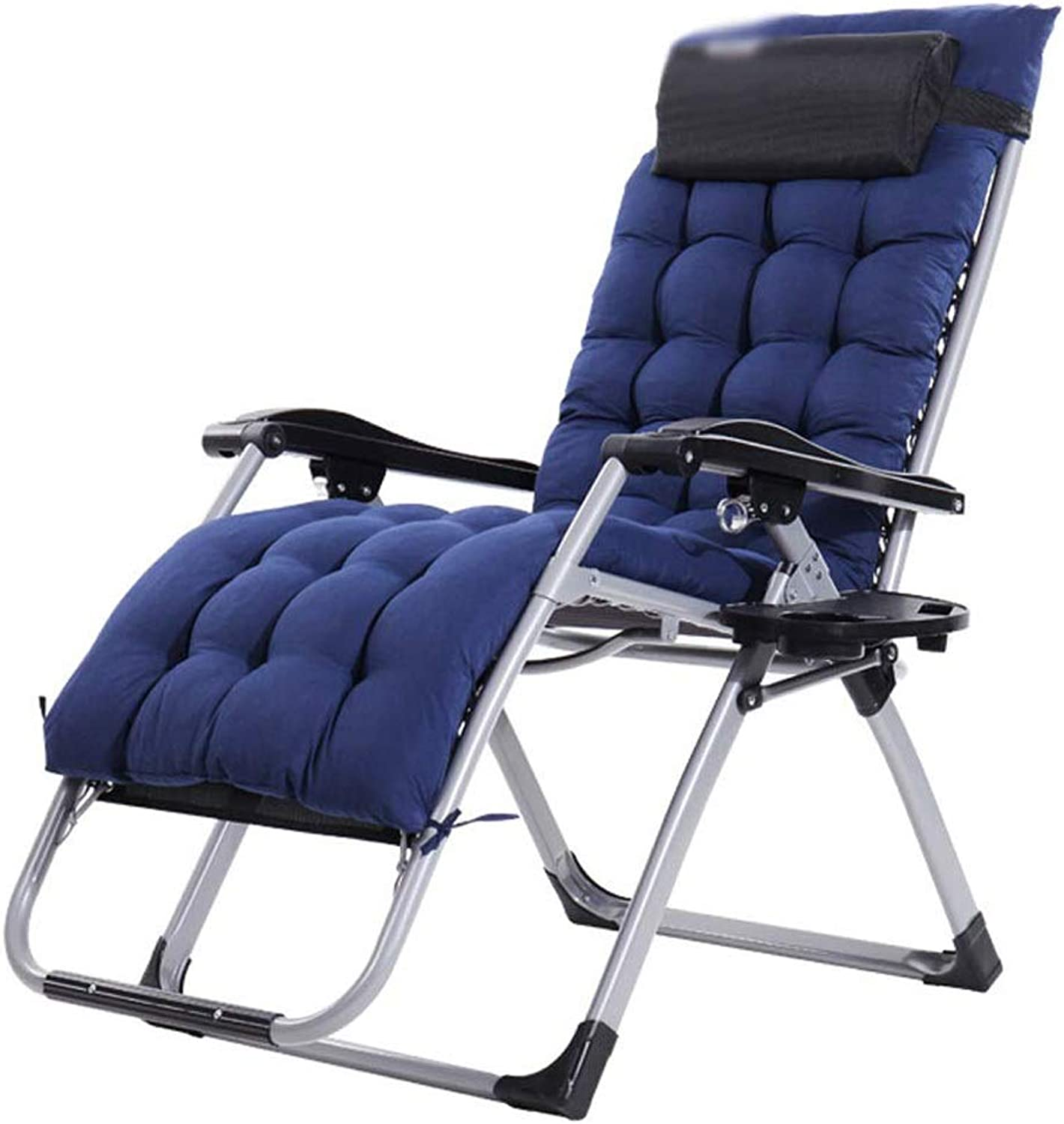 Foldable Backrest Comfortable Office Lunch Break Chair Portable Outdoor Folding Bed Chair Adjustable Nap Accompanying Bed Leisure Beach Chair