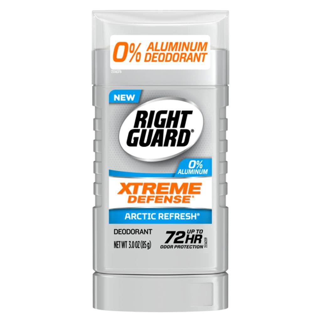 Right Guard Xtreme Defense discount Attention brand Sol Invisible Deodorant Aluminum-Free
