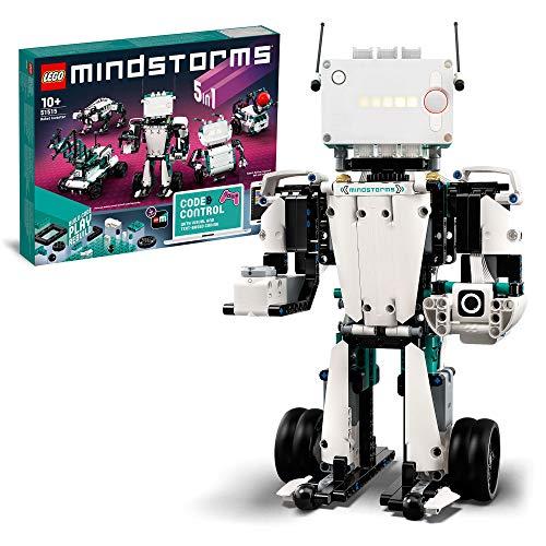 LEGO 51515 Mindstorms Robot Inventor y Kit de Robótica, Juguete Interactivo 5en1 Controlado por Aplicación, Coding Para Niños