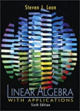 linear algebra with applications 6th edition