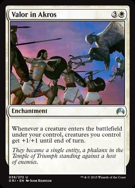 Magic The Gathering - Valor in Akros (059/272) - Origins by