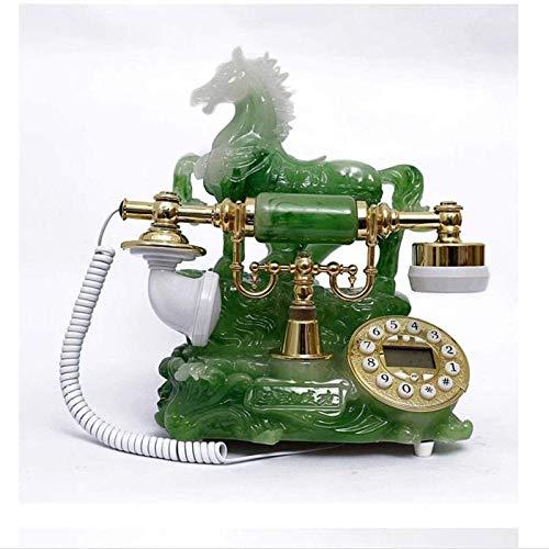 ZHAOH Línea Fija Retro Dyb Vintage Teléfono con Cable con Nueva réplica de teléfonos Antiguos Retro Landline House Teléfonos caseros Teléfono Decorativo