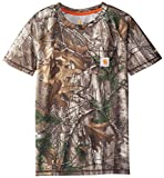 Carhartt Boys' Little Short Sleeve Force Tee, Realtree Xtra, 18 Months