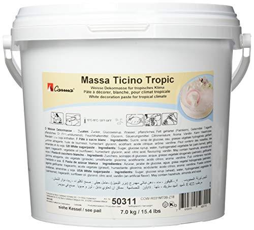 Massa Ticino Carma Tropic Rollfondant, 1er Pack (1 x 7 kg)