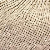 ggh Linova - 050 - Arena - Algodón con lino para tejer y hacer ganchillo