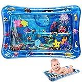Inflable de Agua Alfombra, Alfombra de Juego Inflable, Alfombra Inflable del Agua para Bebés, Entretenimiento de Agua y la Estimulación del Crecimiento de Bebé, 70 cm * 50 cm