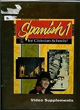 Spanish 1 for Christian Schools Video Supplements (Bob Jones Home School)