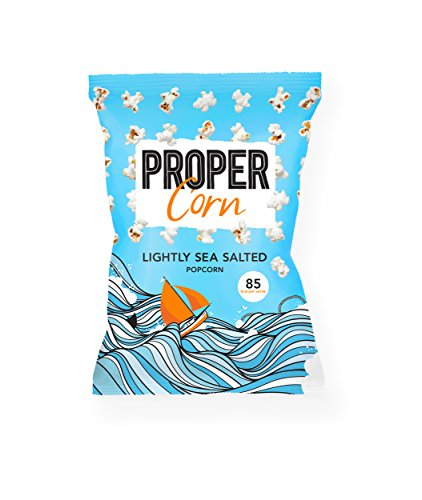 Propercorn Popcorn Salzig - Lightly Sea Salted 70g Snack-Pack zum Teilen