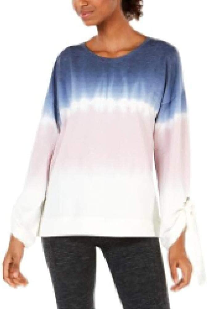 Ideology Elegant Womens Max 53% OFF Burnout Ombre T-Shirt XS Tranquility