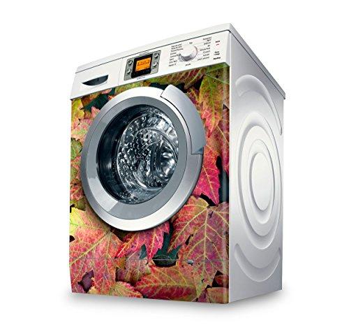 setecientosgramos Vinilo Lavadora | Stickers Washing Machine| Pegatina Lavadora | Leaves