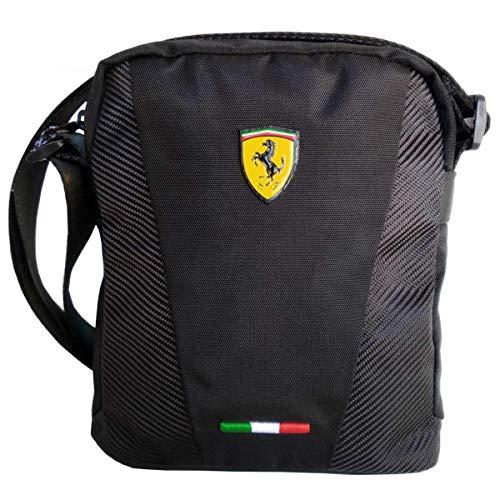 Small Crossover - Bolso bandolera Ferrari negro 60994