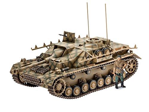 Revell REV-03255 Sd.Kfz. 167 StuG IV, Panzermodell Spielzeug Toys, 1:35/19,1 cm