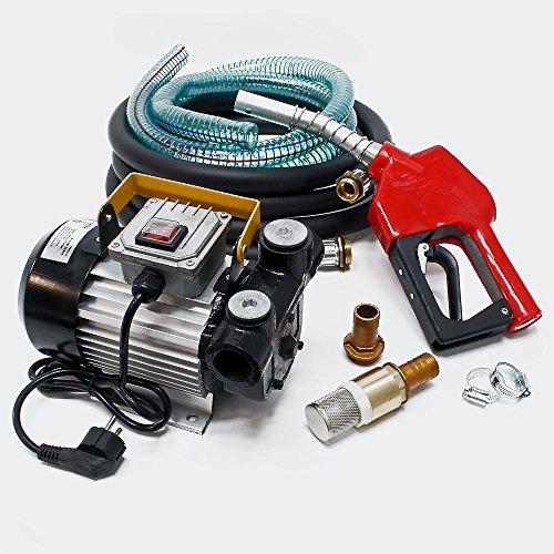 Robuste und selbstansaugende Heizölpumpe mit 550 Watt Leistung und By-Pass-Ventil gegen Überhitzung