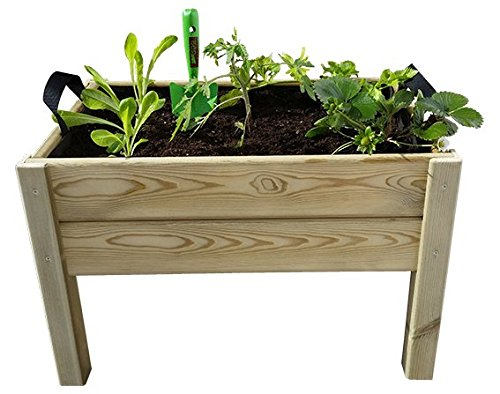 Hortalia Leo - Huerto Urbano Kit de Cultivo, Talla S, 60 x 40 x 40 cm