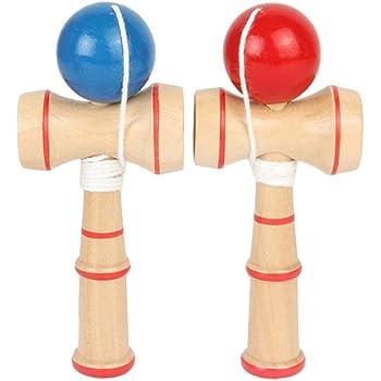 TOYMYTOY Juguete Kendama de madera Creativo Juguetes Copa Kendama y pelota Juego de habilidad Captura Regalos para ni/ños